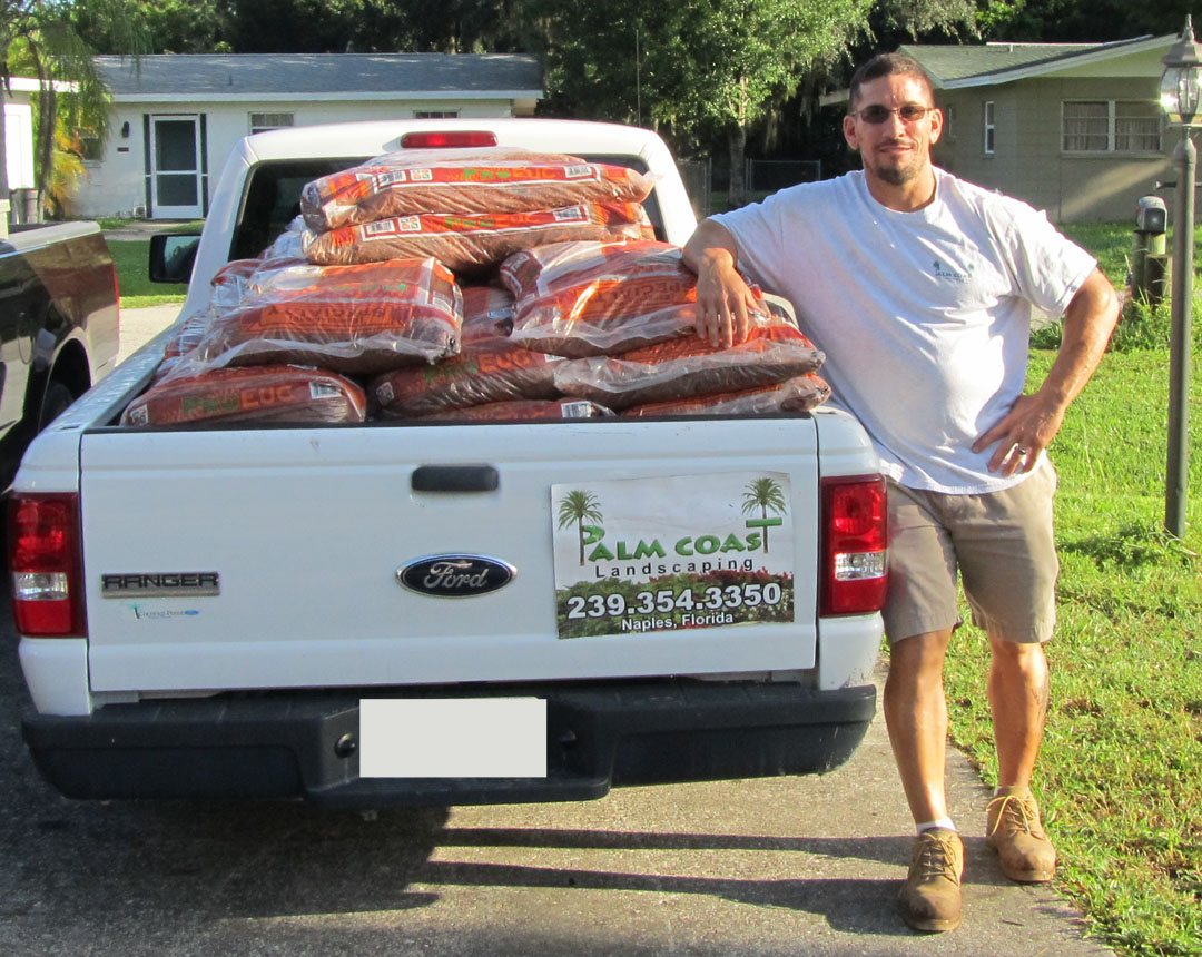Palm Coast Landscaping Donates 50 bags of Mulch | Builderscare | Lee County  Builders Care - Palm Coast Landscaping Donates 50 Bags Of Mulch Builderscare Lee