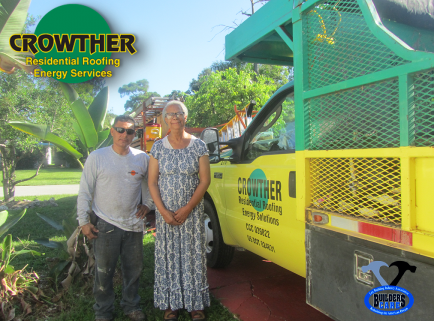 Captivating Crowther Roofing And Lee BIA Builders Care Partner To Repair Roof For  Elderly, Widowed Homeowner In Need
