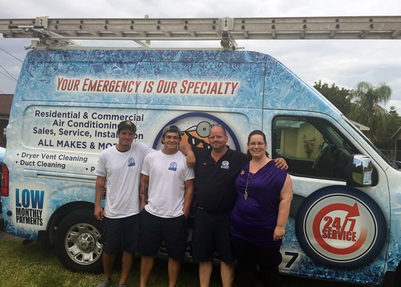 Dr  Kool Air Conditioning and Refrigeration and Lee BIA Builders